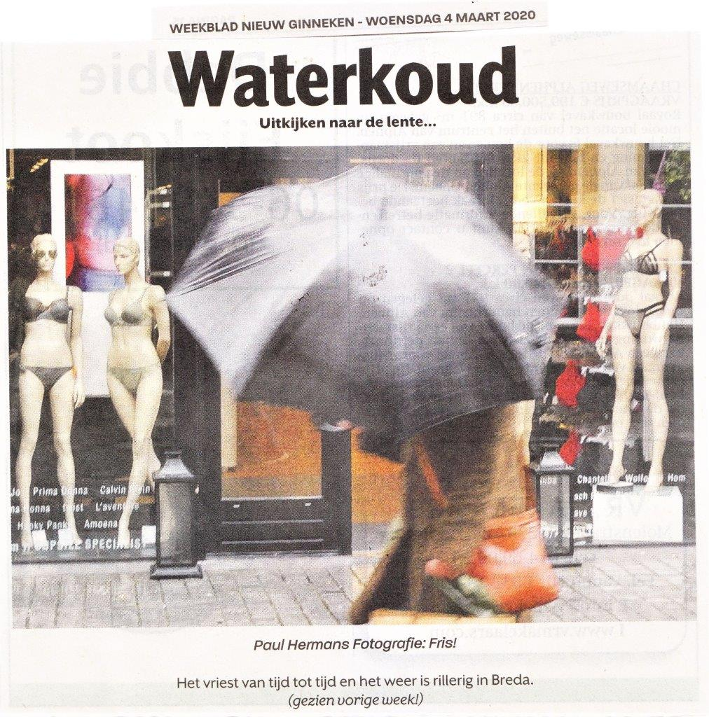 Waterkoud